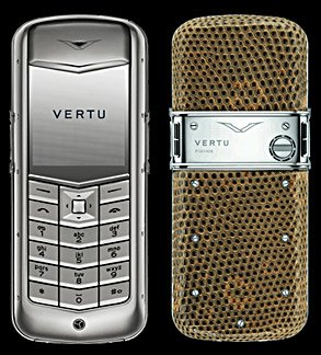 Vertu Constellation Exotic Brown Lizard