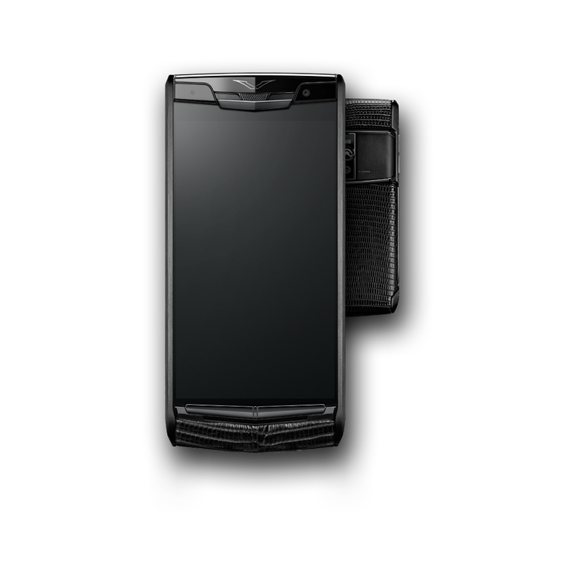 Vertu Signature Touch 2015 Pure Jet Lizard