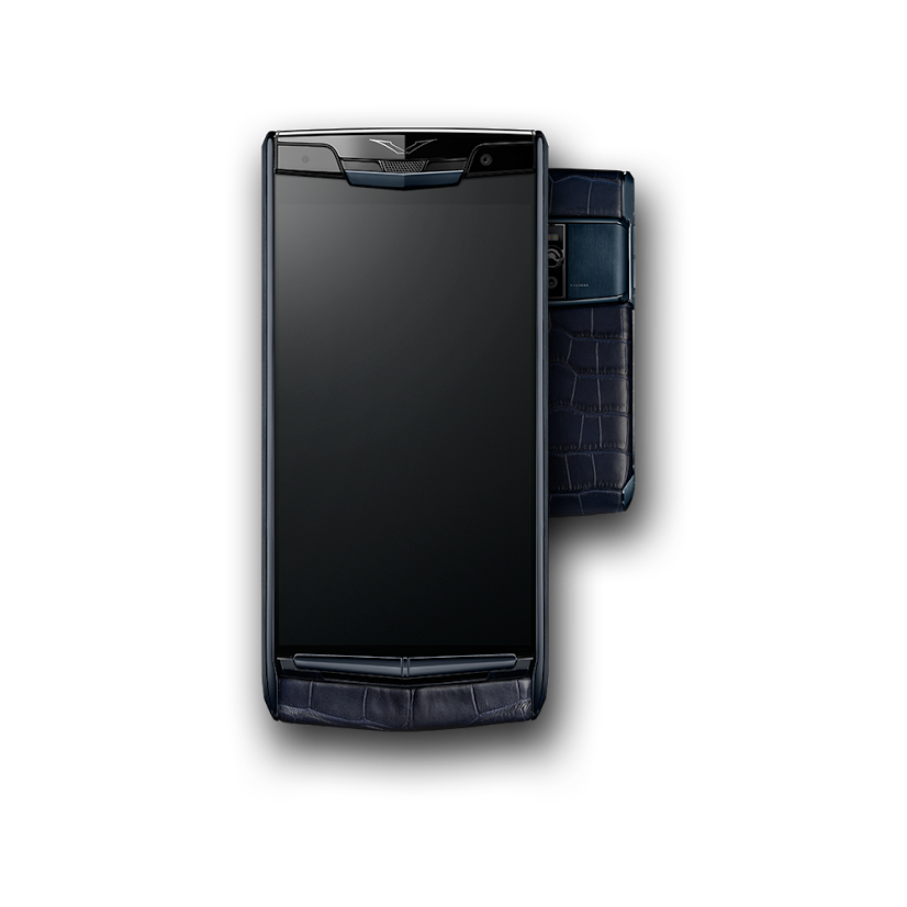 Vertu Signature Touch 2015 Pure Navy Alligator