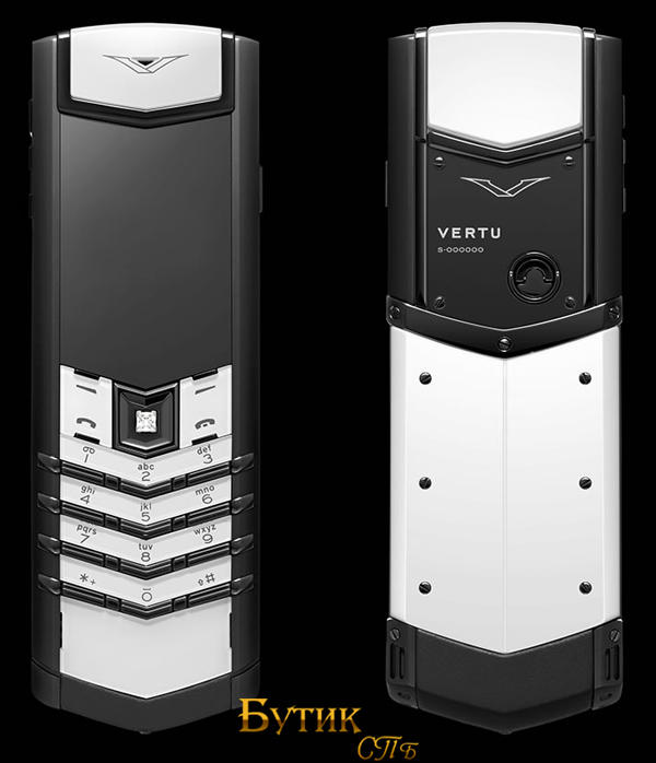 vertu signature black and white 1