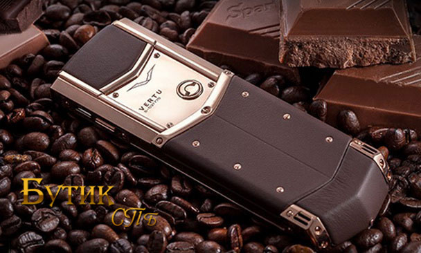 Vertu Signature Pure Chocolate дорогой телефон