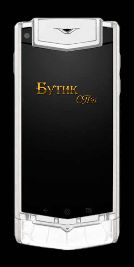 Vertu Ti White Alligator телефон